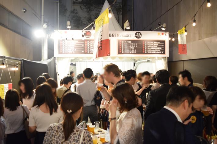 タップマルシェ クラフトビールガーデン in スペース福岡・西通り