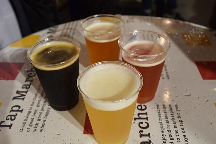 クラフトビールを4種